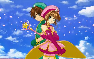 Rating: Safe Score: 6 Tags: card_captor_sakura kinomoto_sakura li_syaoran User: 秀悟