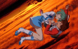 Rating: Safe Score: 54 Tags: eureka eureka_seven renton_thurston sky User: Ichii