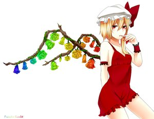 Rating: Safe Score: 71 Tags: flandre_scarlet hyou_haku jpeg_artifacts touhou User: gnarf1975