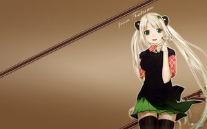 Rating: Safe Score: 88 Tags: blonde_hair green_eyes ooji tagme thighhighs User: gogotea28