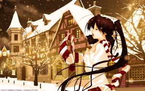 Rating: Safe Score: 78 Tags: christmas kagome tagme User: gnarf1975