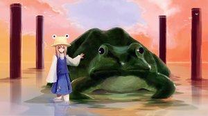 Rating: Safe Score: 27 Tags: animal frog hjistc moriya_suwako touhou User: TristanShi