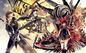 Rating: Safe Score: 40 Tags: god_eater group tagme_(artist) tagme_(character) User: RyuZU