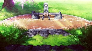 Rating: Safe Score: 108 Tags: ai_(re:lief) blue_eyes boots cherry_blossoms flowers grass landscape mocha_(cotton) park petals rask re:lief_~shin'ai_naru_anata_e~ scenic school_uniform shade short_hair tie tree white_hair User: mattiasc02