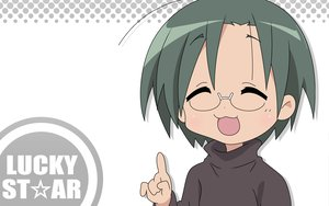 Rating: Safe Score: 3 Tags: glasses lucky_star narumi_yui white User: Oyashiro-sama