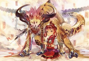 Rating: Safe Score: 38 Tags: brown_eyes dragon loli necklace nightmare-kck ofuda original red_hair short_hair User: RyuZU
