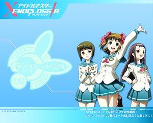 Rating: Safe Score: 15 Tags: amami_haruka hagiwara_yukiho idolmaster idolmaster_xenoglossia minase_iori school_uniform User: Oyashiro-sama
