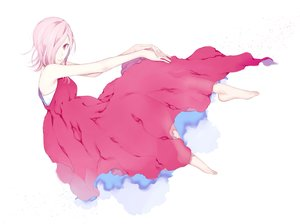 Rating: Safe Score: 28 Tags: barefoot dress one_piece pink_eyes pink_hair short_hair too_mizuguchi vinsmoke_reiju white User: FormX