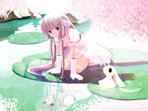 Rating: Safe Score: 6 Tags: atashi chii chobits nijiiro_zakura User: Oyashiro-sama