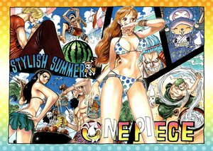 Rating: Safe Score: 47 Tags: bikini brook franky monkey_d_luffy nami nico_robin oda_eiichirou one_piece roronoa_zoro sanji summer swimsuit tony_tony_chopper usopp User: FormX