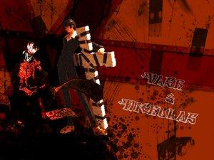Rating: Safe Score: 3 Tags: nicholas_d_wolfwood trigun vash_the_stampede User: Oyashiro-sama