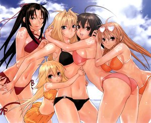 Rating: Safe Score: 50 Tags: bikini kazehana kusano matsu musubi navel sekirei summer swimsuit tsukiumi User: Oyashiro-sama