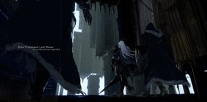 Rating: Safe Score: 36 Tags: armor building gray_hair long_hair original pixiv_fantasia swd3e2 sword watermark weapon User: RyuZU