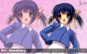 Rating: Safe Score: 15 Tags: clannad key logo sunohara_mei zoom_layer User: 秀悟