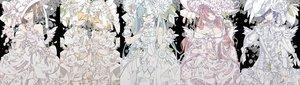 Rating: Safe Score: 31 Tags: bow dress flowers hat hatsune_miku kagamine_len kagamine_rin kaito male megurine_luka meiko vocaloid wristwear yoshiki User: FormX