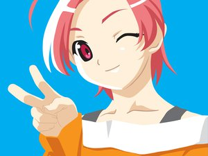 Rating: Safe Score: 0 Tags: close mai pink_hair popotan poyoyon_rokku tagme vector User: Oyashiro-sama
