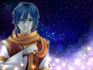 Rating: Safe Score: 25 Tags: blue_eyes blue_hair clear_logic kaito night scarf vocaloid User: MissBMoon
