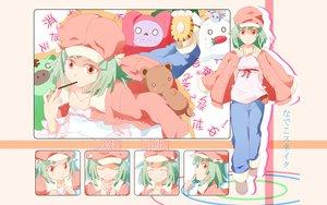 Rating: Safe Score: 28 Tags: bakemonogatari green_hair monogatari_(series) sengoku_nadeko User: 秀悟