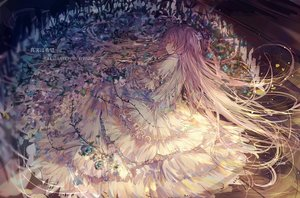 Rating: Safe Score: 126 Tags: bai_qi-qsr dress kaname_madoka long_hair mahou_shoujo_madoka_magica mahou_shoujo_madoka_magica_movie pink_hair sleeping ultimate_madoka watermark User: Flandre93