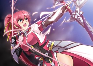 Rating: Safe Score: 43 Tags: blue_eyes blush bow_(weapon) braids breasts diesel-turbo elbow_gloves gloves long_hair mahou_shoujo_lyrical_nanoha mahou_shoujo_lyrical_nanoha_a's pink_hair ponytail signum weapon User: RyuZU