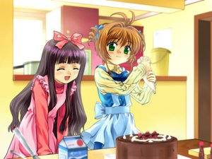 Rating: Safe Score: 9 Tags: card_captor_sakura daidouji_tomoyo kinomoto_sakura moonknives User: 秀悟