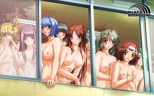 Rating: Questionable Score: 57 Tags: breast_hold breasts nipples nude saimin_gakuen User: kksq