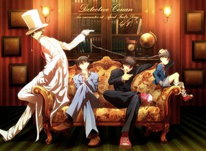 Rating: Safe Score: 62 Tags: abaraya all_male book chain couch detective_conan edogawa_conan group hat kaitou_kid kudou_shinichi kuroba_kaitou magic_kaito male suit uniform User: Oyashiro-sama