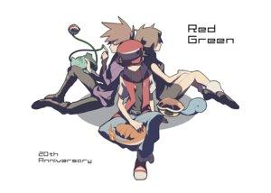Rating: Safe Score: 56 Tags: blue_(pokemon) bulbasaur charmander domu_(hamadura) male ookido_green pokemon red_(pokemon) squirtle User: FormX