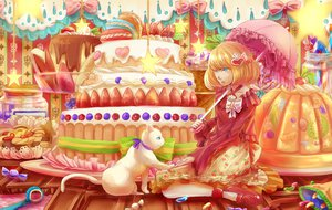 Rating: Safe Score: 27 Tags: 23ichiya animal cake cat original umbrella User: FormX
