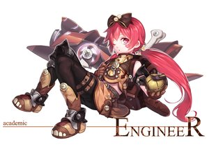 Rating: Safe Score: 48 Tags: boots bow curry_bowl dragon_nest gloves headband heart loli red_hair tinkerer_(dragon_nest) twintails white wink User: FormX