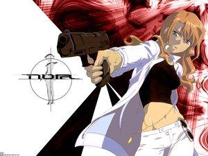 Rating: Safe Score: 11 Tags: blonde_hair blue_eyes gun mireille_bouquet noir weapon User: Oyashiro-sama