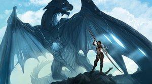 Rating: Safe Score: 149 Tags: dragon mugon original sword weapon User: HawthorneKitty