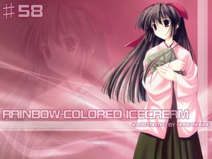 Rating: Safe Score: 9 Tags: nanao_naru rainbow_colored_icecream User: HMX-999
