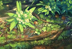 Rating: Safe Score: 72 Tags: flowers nobody original pippi_(p3i2) scenic water User: RyuZU