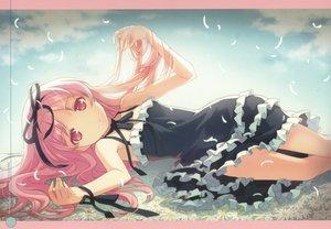 Rating: Questionable Score: 63 Tags: dress garden_(galge) h2so4 himemiya_ruri pink_hair User: gnarf1975
