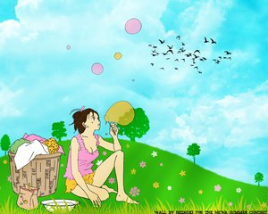 Rating: Safe Score: 6 Tags: bubbles noda_megumi nodame_cantabile sky User: 秀悟