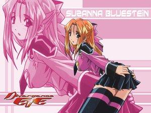 Rating: Safe Score: 64 Tags: divergence_eve orange_hair pink suzanna_bluestein thighhighs uniform zoom_layer User: Oyashiro-sama