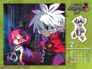 Rating: Safe Score: 16 Tags: calendar disgaea glasses horns male mao_(disgaea) pink_eyes pink_hair raspberyl red_eyes short_hair white_hair User: Katsumi