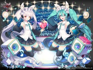 Rating: Safe Score: 72 Tags: applecaramel_(acaramel) aqua_eyes aqua_hair hatsune_miku kaku-san-sei_million_arthur long_hair twintails vocaloid watermark User: luckyluna