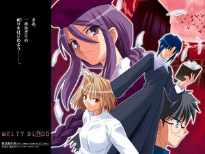 Rating: Safe Score: 9 Tags: arcueid_brunestud ciel melty_blood shingetsutan_tsukihime sion_eltnam_atlasia tohno_shiki type-moon User: Oyashiro-sama