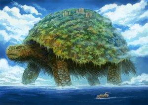 Rating: Safe Score: 128 Tags: animal boat clouds kemi_neko original sky turtle water User: HawthorneKitty