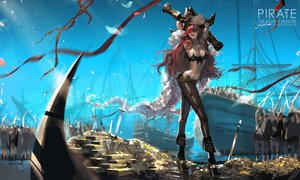 Rating: Safe Score: 57 Tags: boat jajafan league_of_legends miss_fortune pirate red_hair User: FormX