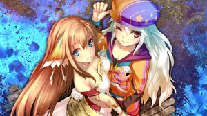 Rating: Safe Score: 179 Tags: 2girls ar_nosurge_ode_to_an_unborn_star breasts casty_rianoit cleavage gust_(company) ion_(ciel_nosurge) ntny scan thighhighs User: XTR17
