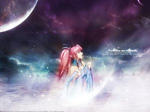 Rating: Safe Score: 12 Tags: gundam_seed lacus_clyne mobile_suit_gundam moon sky User: 秀悟