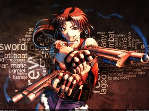 Rating: Safe Score: 70 Tags: black_lagoon gun revy signed weapon User: 秀悟