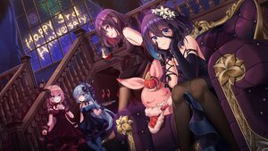 Rating: Safe Score: 28 Tags: aqua_hair black_hair blue_eyes bow dress fireworks flowers gloves group honkai_impact liliya_olenyeva long_hair nogi-to pink_hair red_eyes rozaliya_olenyeva seele_vollerei short_hair veliona User: Maboroshi