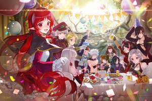 Rating: Safe Score: 41 Tags: aliasing armor black_hair blonde_hair blue_eyes bubbles cake candy cape dress drink dungeon_and_fighter elbow_gloves flowers food gloves green_eyes group hat headband horns long_hair male necklace pointed_ears red_eyes red_hair rose short_hair signed tagme_(artist) tagme_(character) topless twintails white_hair User: BattlequeenYume