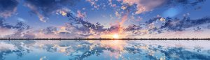Rating: Safe Score: 35 Tags: clouds hoshi_ichi nobody original reflection scenic sky sunset water User: FormX