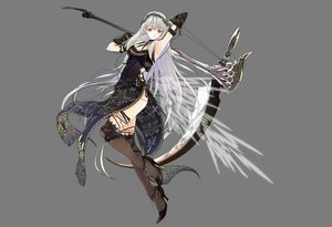 Rating: Safe Score: 86 Tags: dress gray long_hair scythe stockings tagme thighhighs white_hair User: Maboroshi