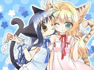 Rating: Safe Score: 13 Tags: animal_ears catgirl shoujo_ai User: Oyashiro-sama